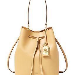 Lauren Ralph Lauren Debby Leather Drawstring Bag   Macys (US)