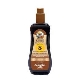 Australian Gold Sunscreen Spray Gel with Instant Bronzer - SPF8 - 8oz | Target