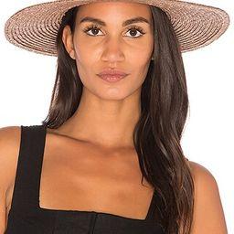 Brixton Joanna Hat in Bronze | Revolve Clothing