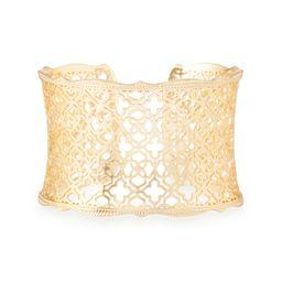 Candice Gold Cuff Bracelet in Gold Filigree | Kendra Scott