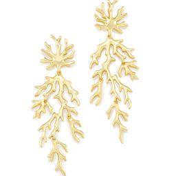 Aviana Statement Earrings in Gold | Kendra Scott