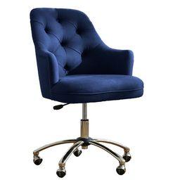 Twill Tufted Desk Chair   Pottery Barn Teen