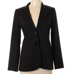 Theory Wool Blazer Size 10: Black Women's Jackets & Outerwear - 55608618   thredUP