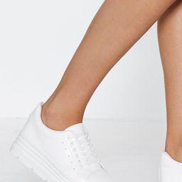 Make a Break For It Platform Sneaker   NastyGal (US & CA)