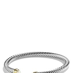 'Cable Classics' Bracelet with Semiprecious Stones & Gold | Nordstrom
