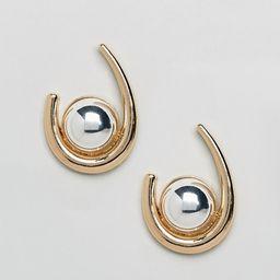 ASOS Statement Ball Hoop Earrings | ASOS US