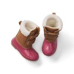Cozy duck boots   Gap US