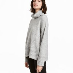 H&M Knit Turtleneck Sweater $34.99 | H&M (US)