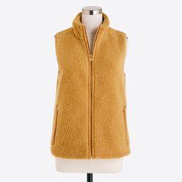 Fleece vest | J.Crew Factory