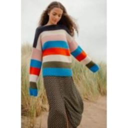 UO Multi-Colour Striped Jumper, assorted   Urban Outfitters UK