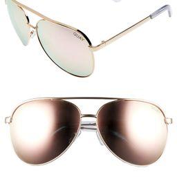 Vivienne 64mm Aviator Sunglasses | Nordstrom