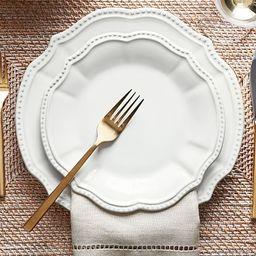 Leila Dinner Plate, Set Of 4 | Pottery Barn (US)