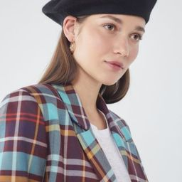 Felt Beret - Black at Urban Outfitters | Urban Outfitters (US and RoW)