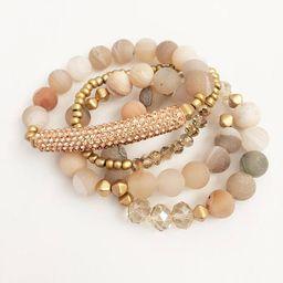 Natural Stone Bracelet Set | Stack Bracelet Set | Stretch Bracelet Set | Boho Jewelry | Bohemian Jew | Etsy (US)