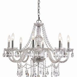 8-Light Crystal Chandelier   Wayfair North America