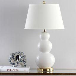 "Monroy Triple Gourd Ceramic 27"" Table Lamp   Wayfair North America"