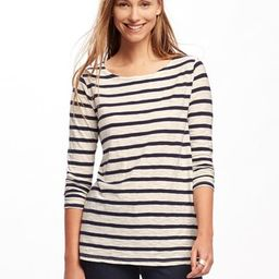 Relaxed Mariner-Stripe Tee for Women | Old Navy US