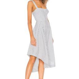 Seersucker Bustier Dress   Revolve Clothing (Global)