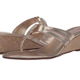 Lilly Pulitzer - Mckim Wedge (Gold Metallic) Women's Sandals | Zappos