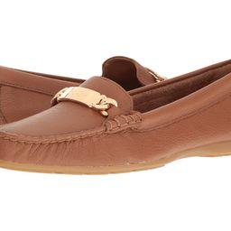 COACH - Olive (Saddle Pebble Grain Leather) Women's Slip on  Shoes | 6pm
