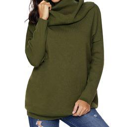 Green Cowl Neck Sweater - Women | zulily