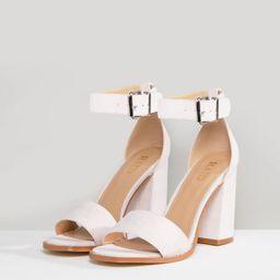 RAID Imani Pale Pink Block Heeled Sandals - Pink | ASOS US