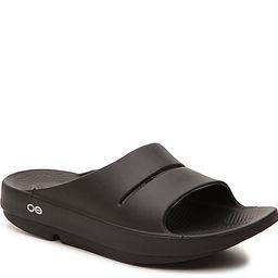 OOFOS Ooahh Slide Sandal - Women's - Black   DSW