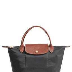 Longchamp 'Small Le Pliage' Top Handle Tote - Black | Nordstrom