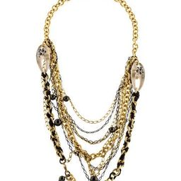 Alexis Bittar Multistrand Lucite, Crystal & Faux Pearl Necklace   The Real Real, Inc.