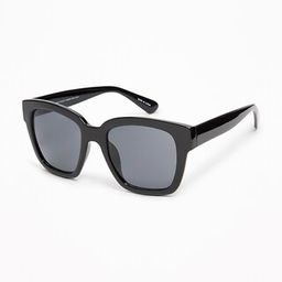 Old Navy Womens Oversize Square Sunglasses For Women Black Size One Size   Old Navy US