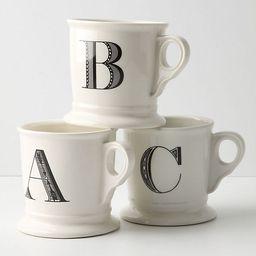 Monogram Mug | Anthropologie (US)