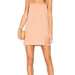 NBD Jaxon Mini Dress in Caramel & Gold | Revolve Clothing (Global)