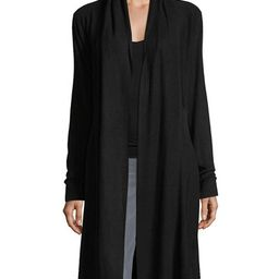 Neiman Marcus Long Soft-Knit Duster Cardigan | Lastcall