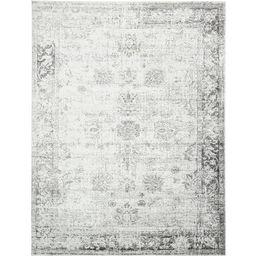 Sofia Floral Grey Area Rug (9' x 12') | Overstock