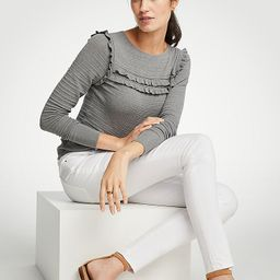 Curvy All Day Skinny Jeans In White | Ann Taylor (US)
