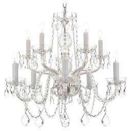 Gilbertsville 10-Light Crystal Chandelier | Wayfair North America