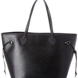 Louis Vuitton Black Epi Leather Neverfull MM | Ruelala