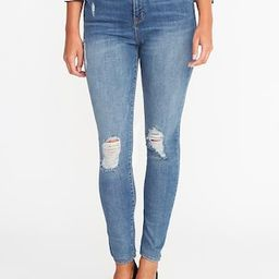 High-Rise Distressed Rockstar Jeans for Women   Old Navy US