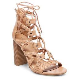 Women's Kolbi Braided Ghillie Heeled Gladiator Sandals - Merona™ | Target