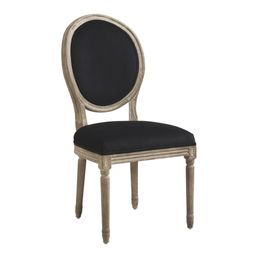 Natural Linen Paige Round Back Dining Chairs Set of 2 | World Market