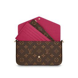 Louis Vuitton Pochette Felicie Monogram Fuchsia Lining | StockX