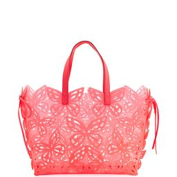 Liara Butterfly Jelly Tote Bag   Neiman Marcus