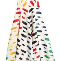 Ruffled printed cloqué maxi dress | The Outnet US