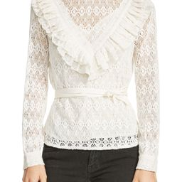 Limba Belted Lace Blouse | Nordstrom