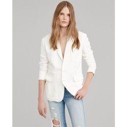 Linen-Blend Blazer | Ralph Lauren (US)