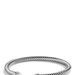Cable Classics Bracelet with Semiprecious Stones & Diamonds, 5mm | Nordstrom