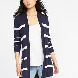 Open-Front Long-Line Sweater for Women   Old Navy US