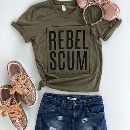 May 21 Shipping//Rebel Scum//Star Wars Shirt//The Last Jedi//Disney Shirt   Etsy (US)