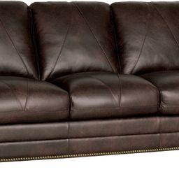 Gardner Leather Sofa   Wayfair North America