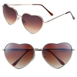 Heart Shaped 58mm Sunglasses   Nordstrom